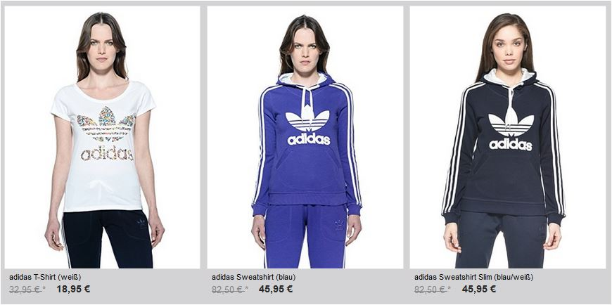 adidas damen t shirt sale