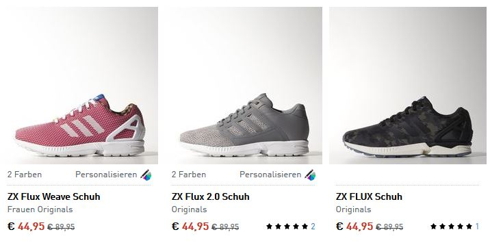 Adidas Zx Flux Damen Sale