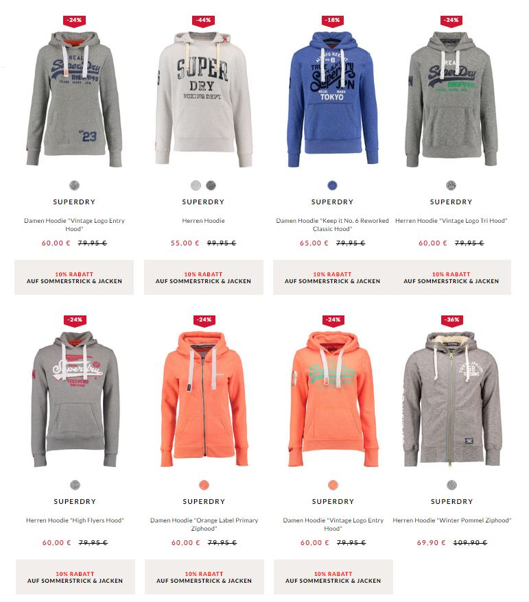 superdry hoodies