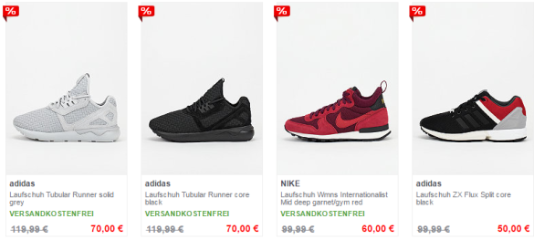 Sneaker Sale bei Snipes
