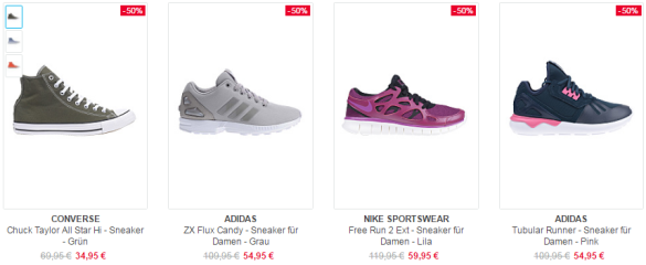 Sneaker Sale bei Planet-Sports