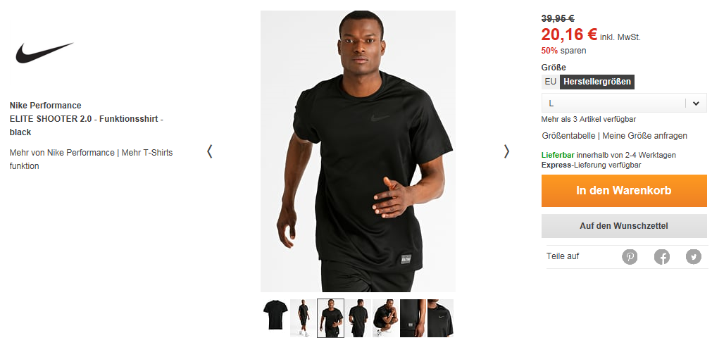 screen nike shirt