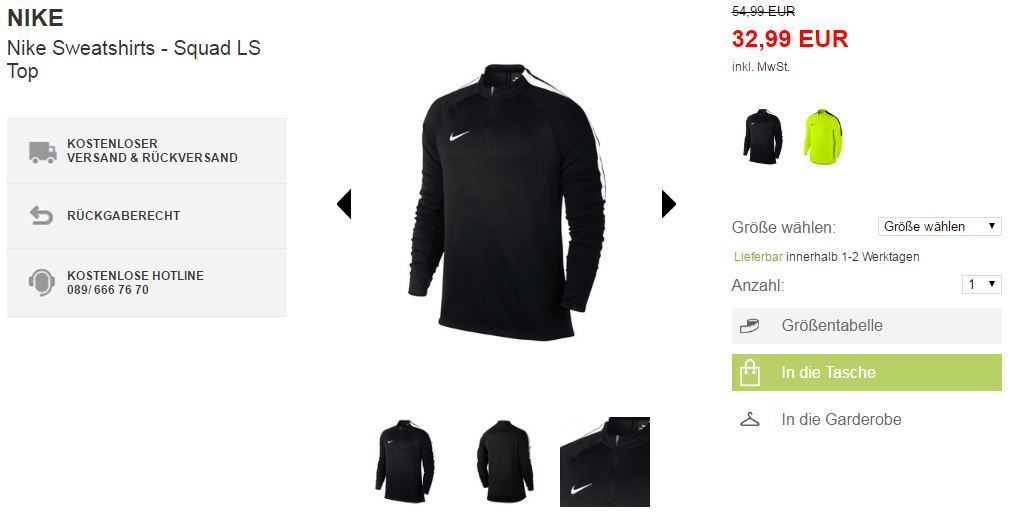 NIKE Fußball-Outfit