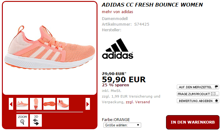 adidas CC Fresh Bounce