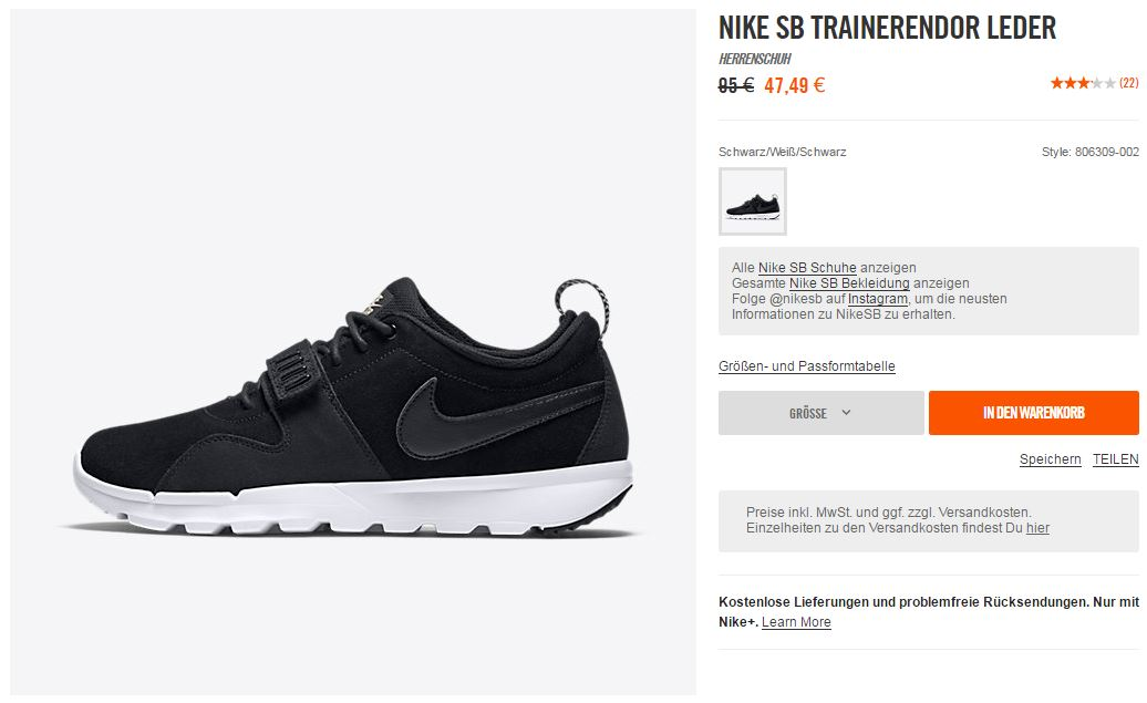 NIKE SB Trainerendor Leather