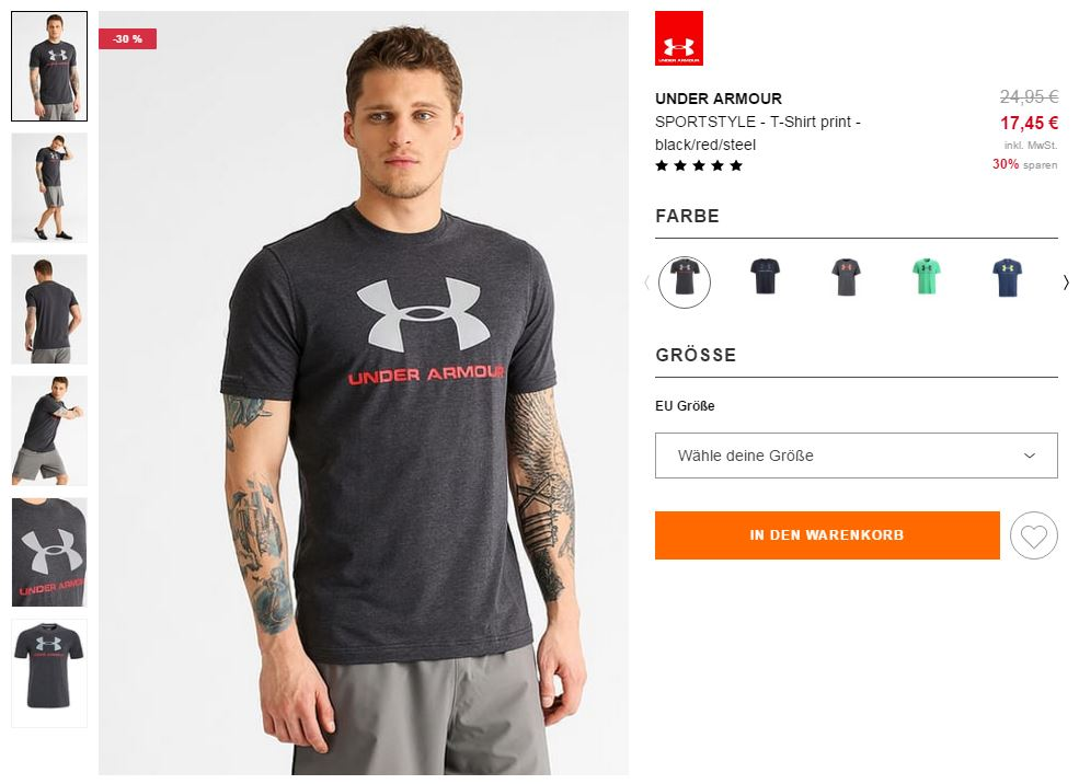 under armour gym-outfit