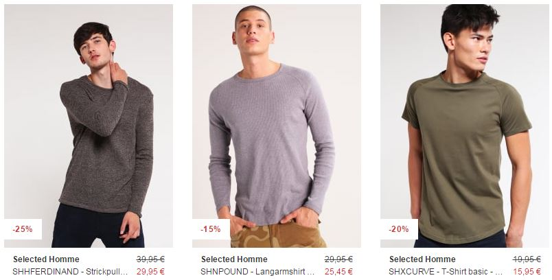 selected sale