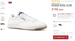 Reebok Royal Slam