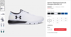 Under Armour Charged Ultimate 2.0