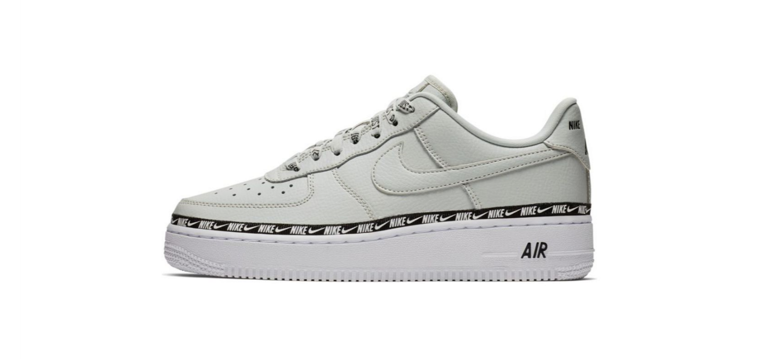 nike air force premium overbranded